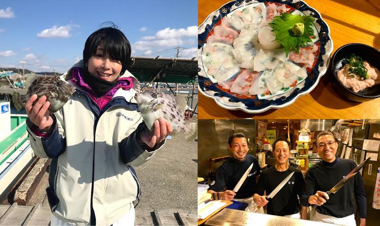 釣り好きが集う【千葉・館山】の和食屋「若鈴」で釣った魚をご馳走に♡