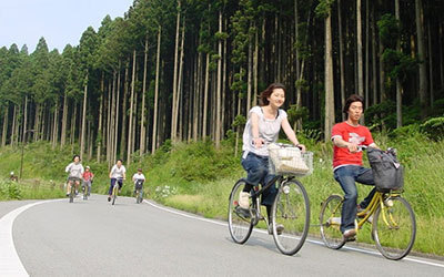 兵庫県神河町で期間限定で路線バスに自転車を載せる事が可能に