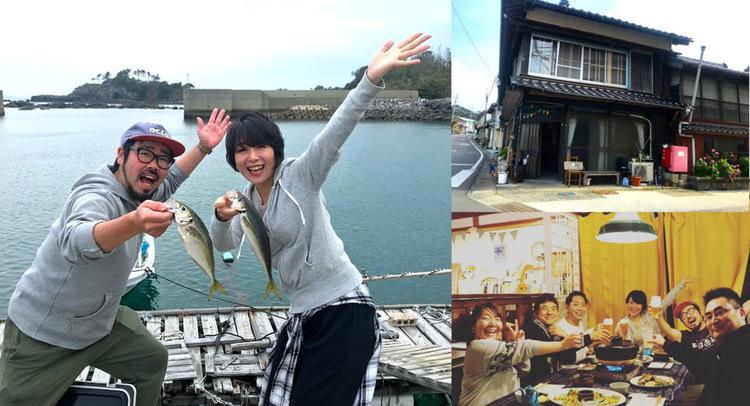 【長崎・壱岐】釣り師と海女がお出迎え!釣って食べれるゲストハウス「みなとや」