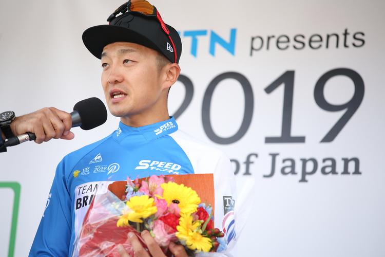 2019年ツアー・オブ・ジャパン!第3ステージ(いなべ)で窪木一茂選手がポイント賞を獲得!