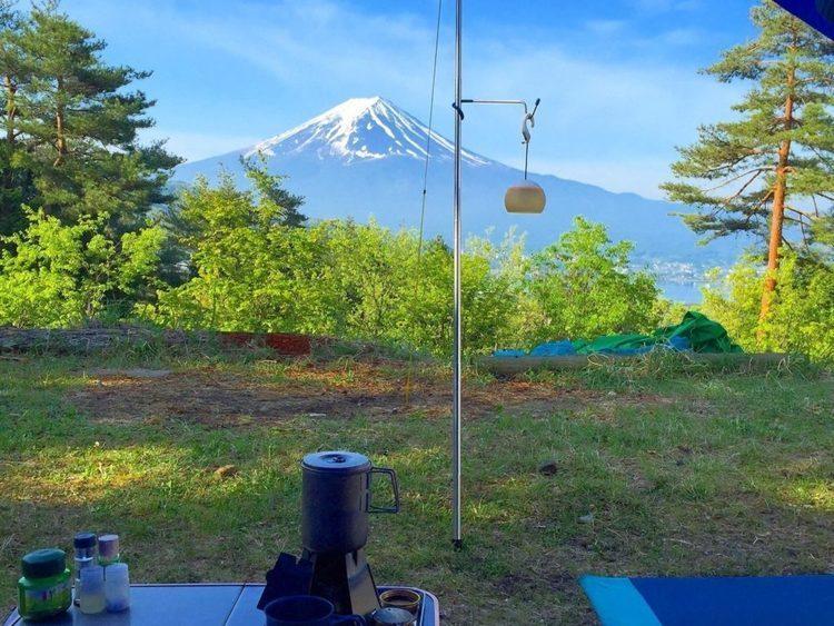 【湖畔キャンプ】富士五湖周辺のキャンプ場5選