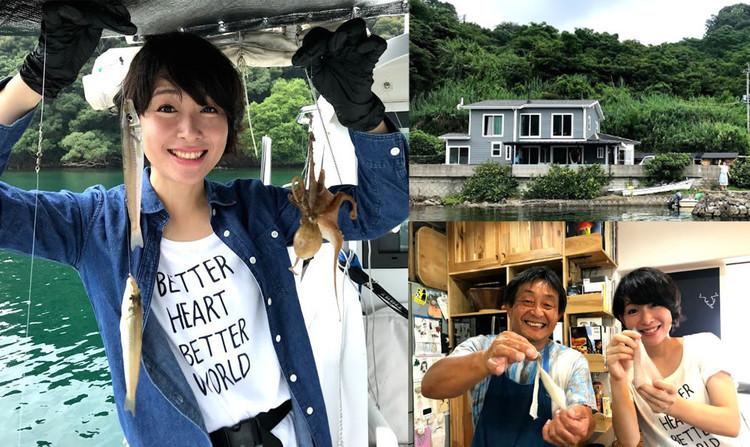 【長崎・大村湾】まるで親戚の家!1日1組限定の宿で、釣って料理して食べちゃおう