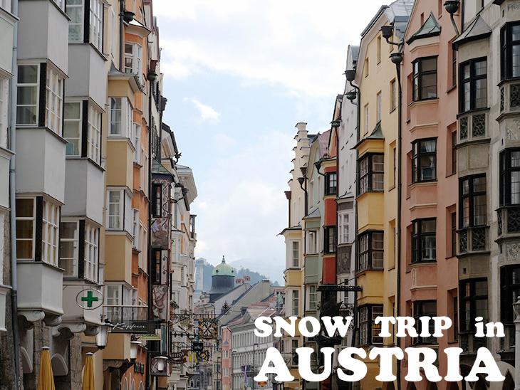 スキー大国オーストリア:スノートリップの締めくくりは古都散策