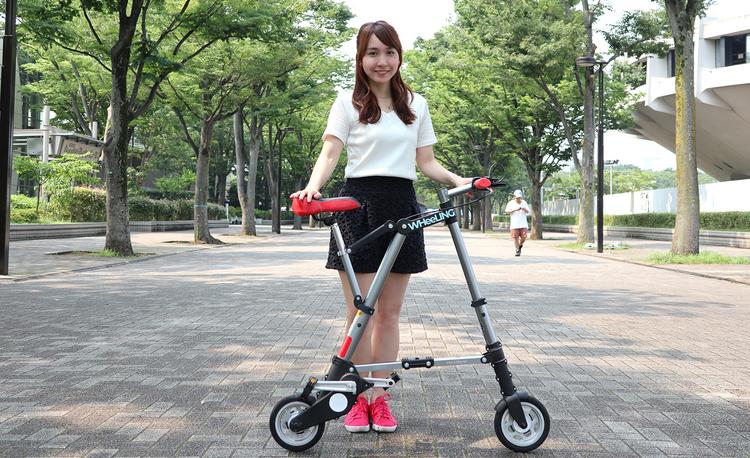 折りたたみ自転車のデリバリー&レンタルサービス「WHeeLING TOKYO」で行く渋谷原宿かき氷巡り