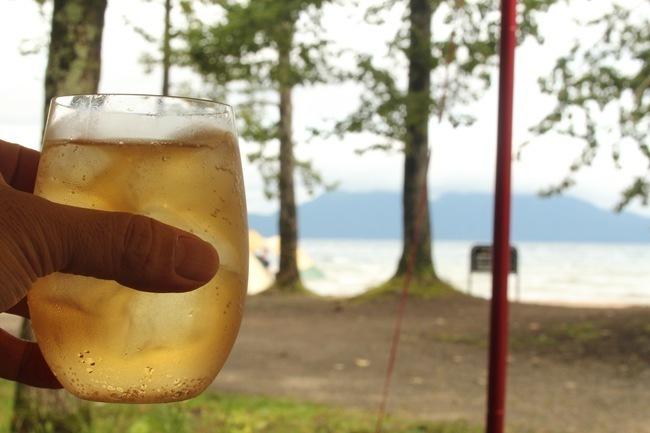 キャンプ最強ウィスキーを片手に湖畔キャンプ 北海道キャンプ旅 act 5
