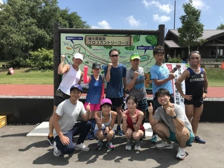 """スポリートランニングクラブ """"頂(ITADAKI)プロジェクト"""" 19'夏季合宿の様子をリポート!"""