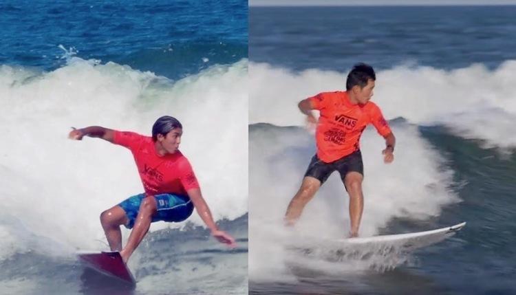 五十嵐カノア・大原洋人 見事ラウンドアップした初戦R1ハイライト映像 -ISAワールドサーフィンゲームス