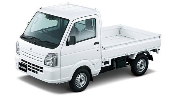 スズキの軽トラック「キャリイ」が、より安全装備を充実されて発売!
