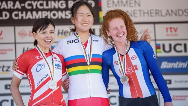 杉浦佳子がロード銀で2つ目のメダル獲得 2019 UCI パラサイクリング ロード世界選