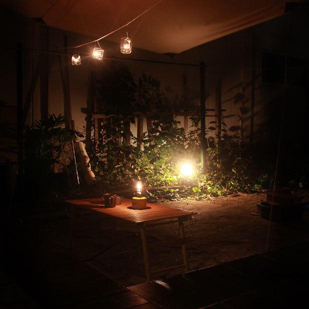 ヒュッゲに学ぶキャンプの照明