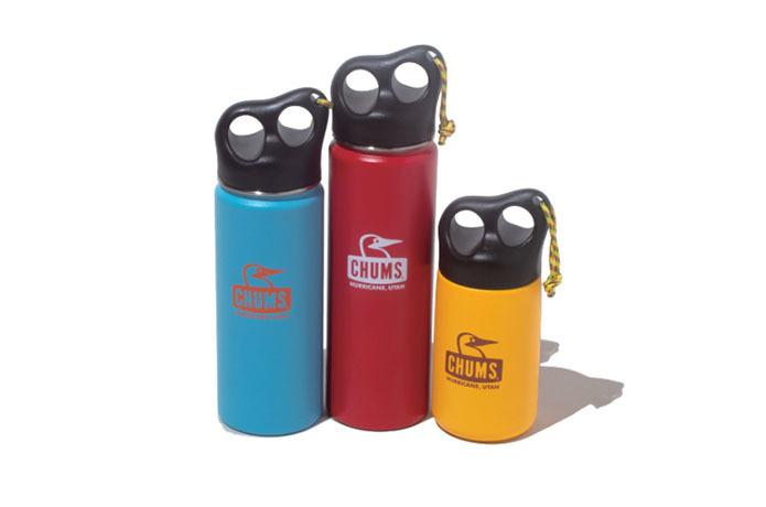 3サイズ全8色展開!チャムスから環境に優しいステンレスボトルが登場【アウトドア通信.482】