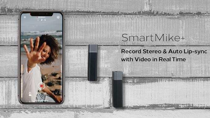 面倒な専用機器はもう必要なし!スマホで高音質な動画撮影が可能なワイヤレスマイク『SmartMike +』