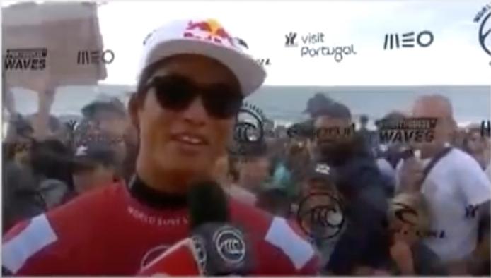 """【WSL】五十嵐カノアがKelly Slaterを倒してクォーターファイナル進出! ポルトガルで開始中のCT第10戦""""MEO Rip Curl Pro Portugal""""コンテストDAY6が無事終了"""