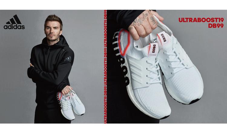 adidas(アディダス)「ULTRABOOST 19」に、デビッド・ベッカムとのコラボレーションランニングシューズが登場。11月1日(金)発売開始。