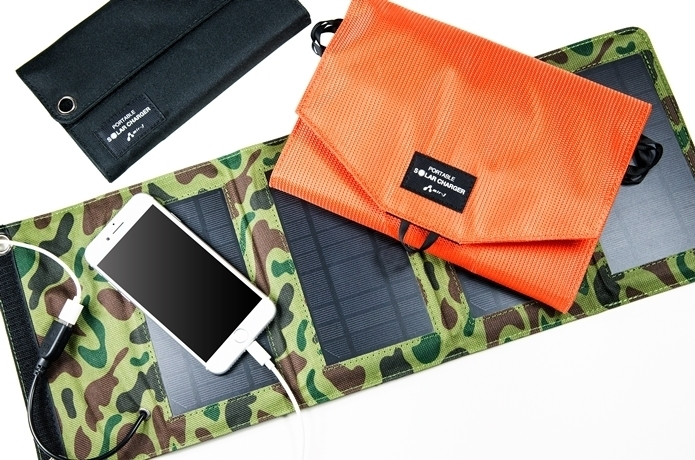 【NEWS】業界初!スマートフォンをフル充電できる「ポータブルソーラー充電器」が登場!