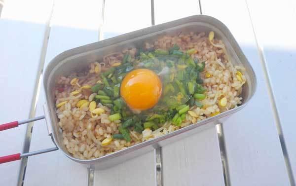 【レシピ】メスティンで作れる!簡単キャンプ、BBQビビンバ
