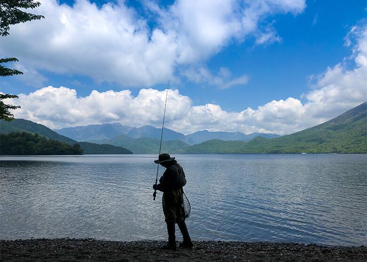 フライフィッシングの聖地!中禅寺湖 奥日光で感じた興奮と発見の旅
