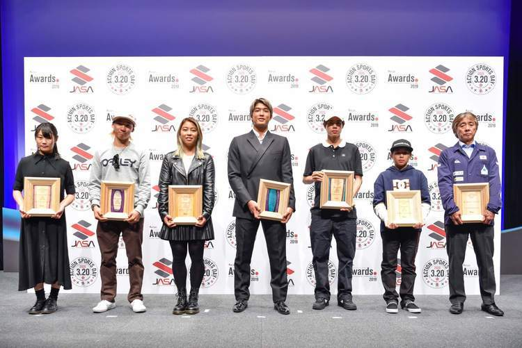 「JASA AWARDS 2019」で五十嵐カノア・村上舜・都筑有夢路・波乗りジャパンが受賞!