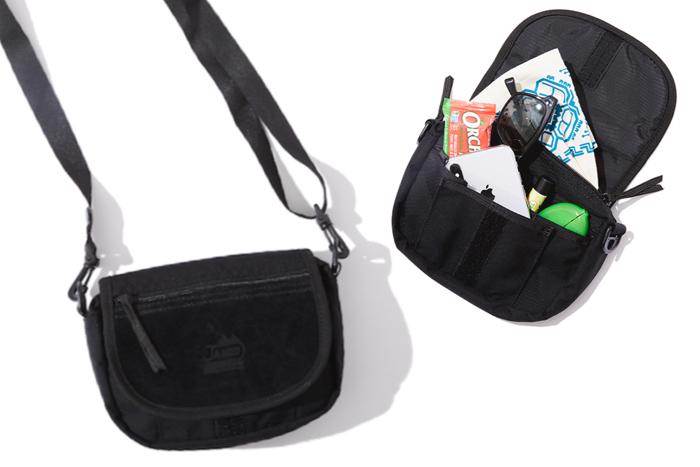 バッグインバッグとしても使える、オールブラックの機能美バッグ。フリークス×ジャンド×GO OUTのコラボ作。