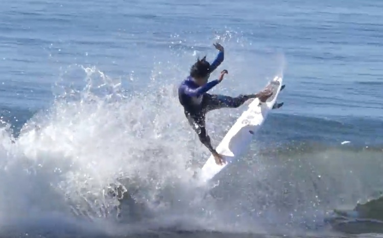 【次世代サーフスター】Oceanside最新エピソードは、平原颯馬による湘南小波EPSセッション