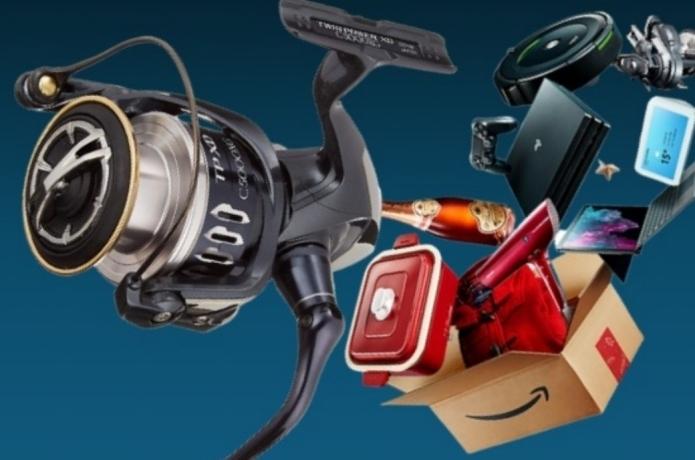 Amazonサイバーマンデー|シマノ・ダイワなど人気メーカーの釣り具がお買い得!