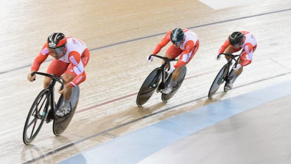 トラックW杯第4戦 チームスプリント日本代表が2度の日本記録更新で16年ぶりに金メダル獲得