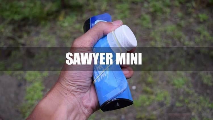 【ギアレビュー】携帯浄水器ソーヤーミニはコンパクトで性能が素晴らしい!実験もしてみた!