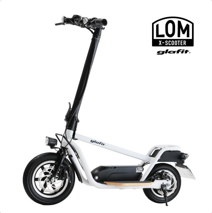 glafitが立ち乗りスクーター「X-SCOOTER LOM」をCES2020 Unveiledで発表