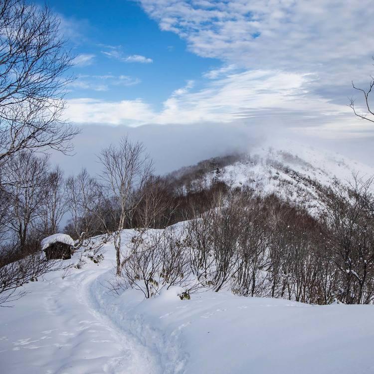 冬季飯縄山 1月の飯縄山