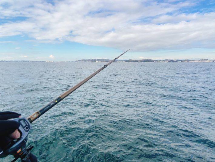 東京湾スミイカ釣行。ビーズ仕掛けの謎とバラシ(チップ)の課題
