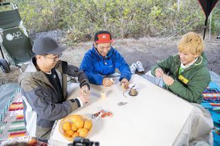 【おぎやはぎのハピキャン】コタツやロッキングチェアをDIY! タケトさんと楽しむこだわりのDIYキャンプ 〜後編〜