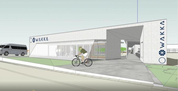 しまなみ海道に宿泊・サイクリングサポートなどを行う総合施設「WAKKA」がオープン
