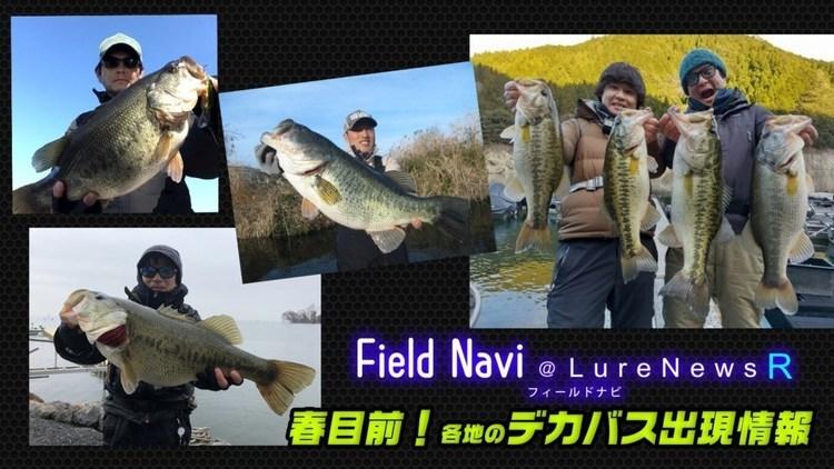 デカバス乱舞!琵琶湖&各リザーバーの最新釣果情報をまとめてお届けっ!【FieldNavi調べ】