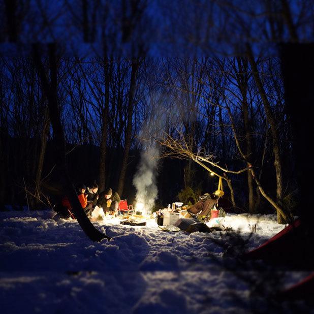 恩原高原に雪中キャンプに行ってきた '20