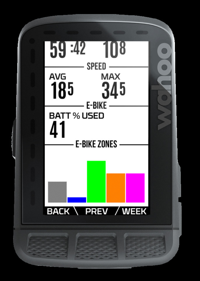 Wahoo「ELEMNT GPS サイクルコンピューター」シリーズにEバイク向けANT+ LEVプロトコルの通信機能を実装