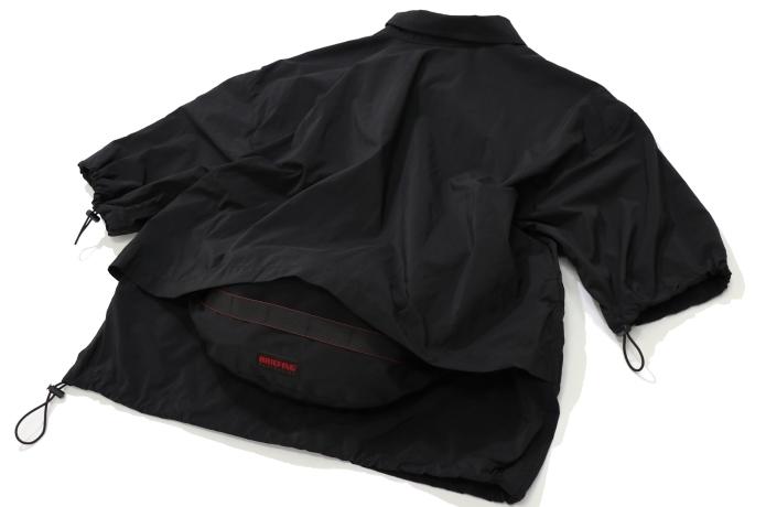 バッグとジャケットがドッキング!?レミレリーフ×ブリーフィングのコラボが秀逸