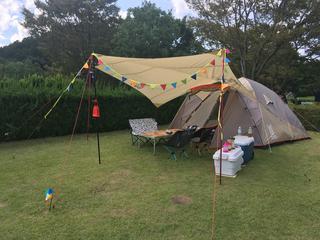 【おすすめキャンプ場50】キッズエリア充実!「グリーンパーク山東」で広々ファミリーキャンプを楽しもう