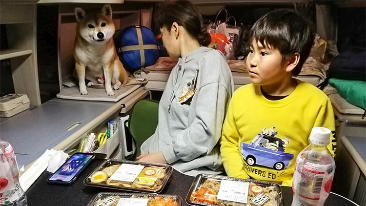 待望のキャンピングカー旅!準備万端、いよいよ出発 !!