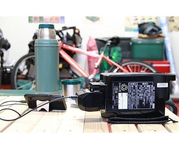 パナソニックから電動アシスト自転車用バッテリーUSB出力アダプターが登場