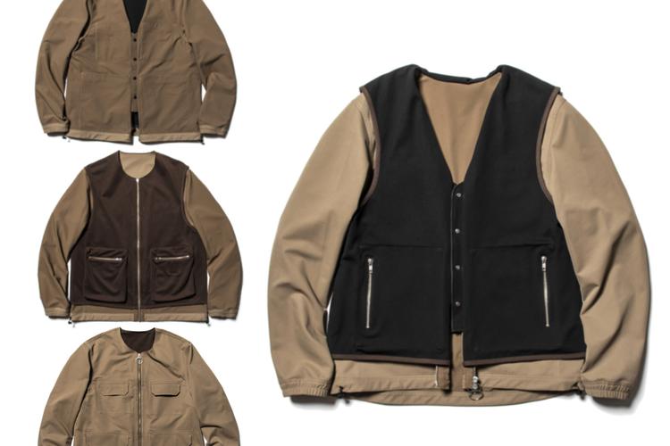 意表を突く4WAY仕様でコーデの幅グッと広がる、ミーンズワイルの新作ジャケット。