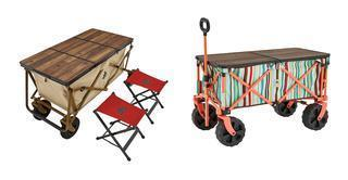 【注目リリース】キャリーカートがテーブルに早変わり! LOGOS(ロゴス)の新作で外遊びをもっと快適に。