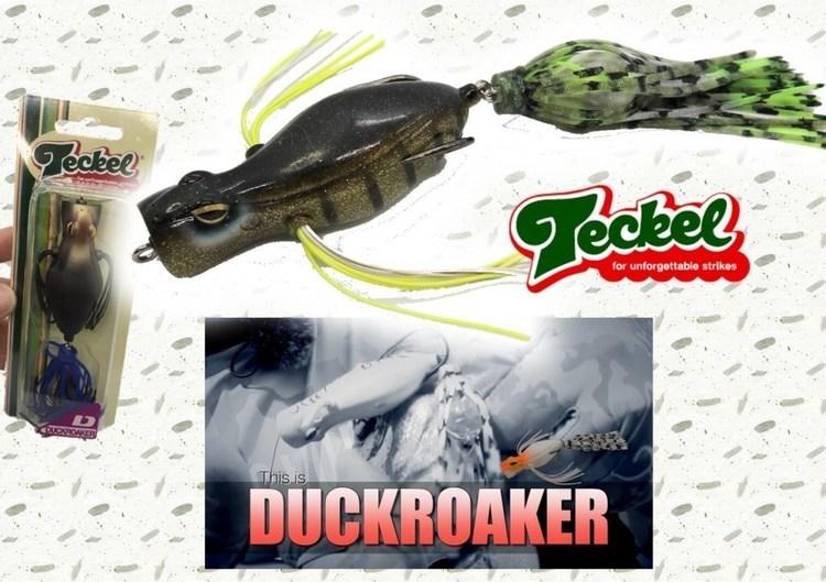 【ダックローカーDuckroaker】テッケルの第6弾NEWフロッグに注目!食わせ要素全入り⁉