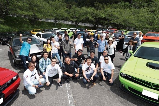日本で一番! ?チャレンジャー密集度が高い場所 New Dodge Challenger's