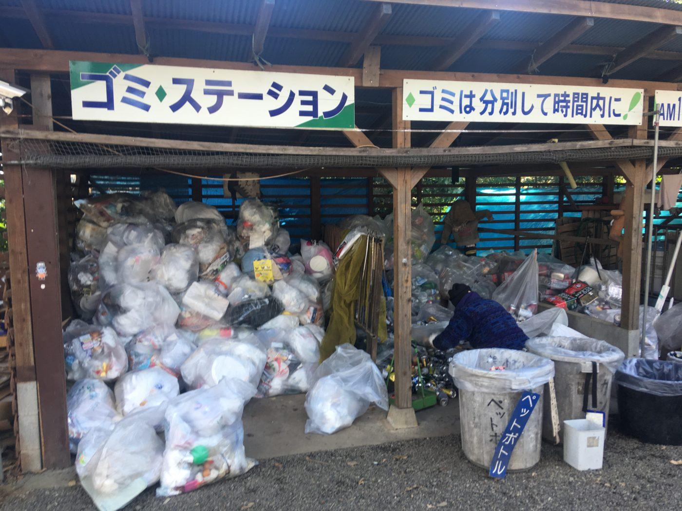 年末年始のキャンプ場で感じたゴミ捨て問題。