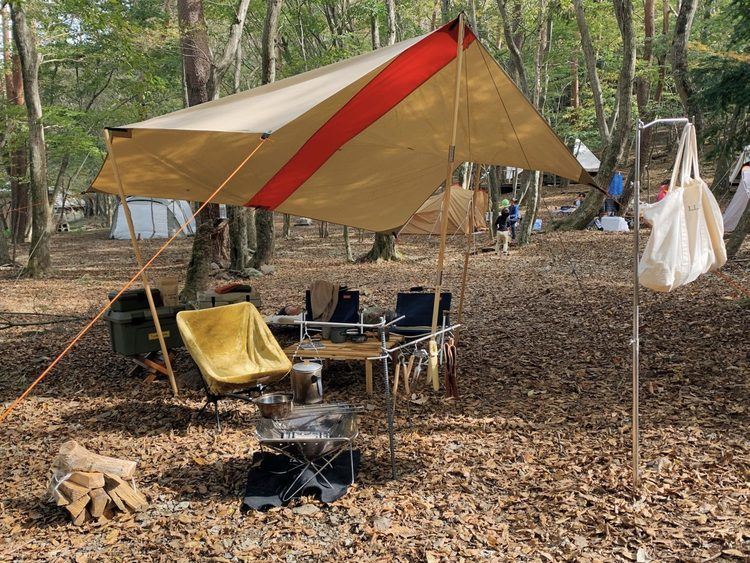 "Roost Outdoors ""Lined"" TC Tarp Type1 レビュー"
