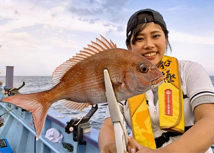 初挑戦で竿頭も夢じゃない!? 「海老で鯛を釣る」ひとつテンヤマダイにチャレンジ!