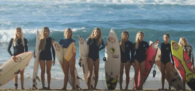 【動画】次世代のRipCurlウーマンたちのハワイ・ノースショア サーフィン