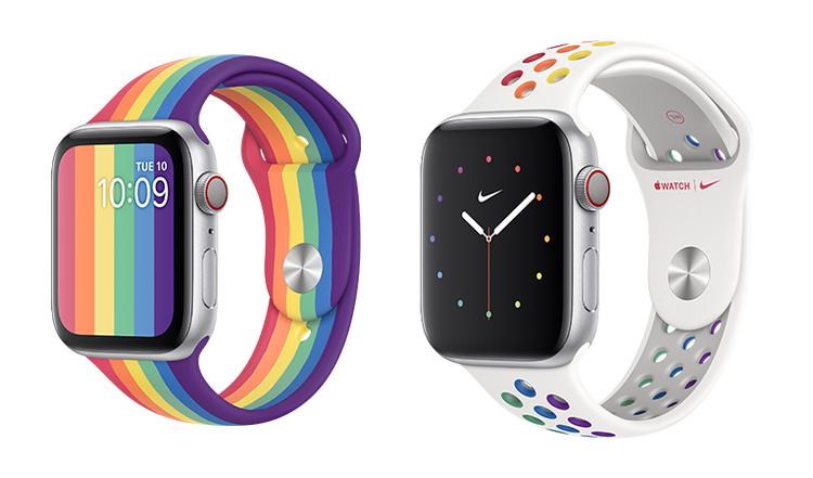 Apple(アップル)が、LGBTQを支援するプライド月間を祝し、新しいApple Watch用バンドを発売。