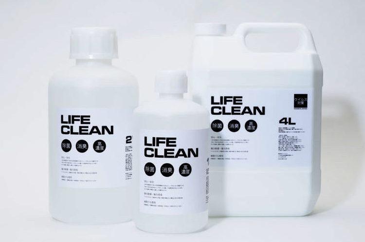 家具や食材、キャンプギアにも。用途豊富で強力なグッドスミスの除菌消臭液。