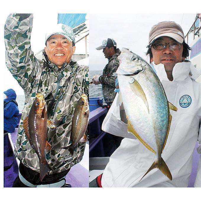 イサキ&シマアジ絶品リレー!数釣り魚&高級魚!外房 大原沖